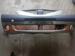 Бампер передний Dacia Logan