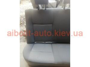 Задний ряд сидений Dacia Logan