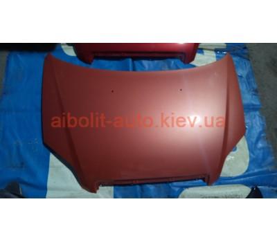 Капот Оранжевый Авео Т250  Chevrolet Aveo Кузовные детали