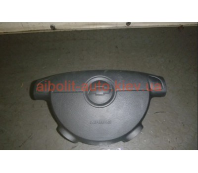 Подушка безопасности AirBag водителя лачетти