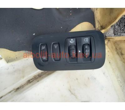 Кнопка регулировки фар Renault Megane 2 Оригинал Б У  Renault Megane 2 - 2002 - 2008г.