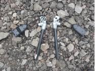 Защелки ремней безопасности передние Megane 2