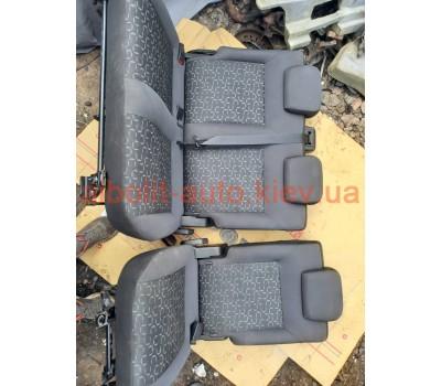 Задний ряд сидений Фиат Добло 263, Fiat Doblo 263 Оригинал Б У  Fiat Doblo 2010 - 2016г.