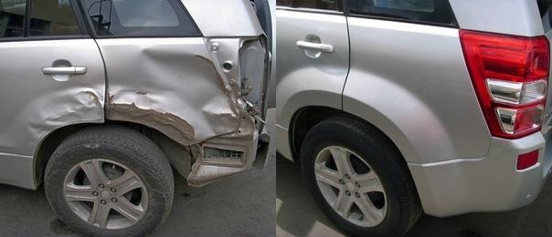 Рихтовка кузова авто